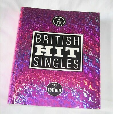 Guinness World Records - British Hit Singles - 16th Edition Book • 2.30£