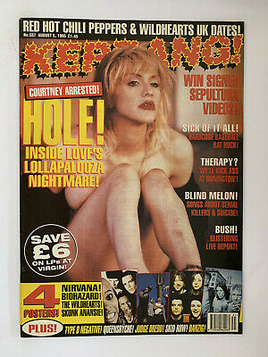 Kerrang #557 Courtney Love Hole  • 8£