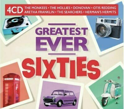 GREATEST EVER SIXTIES (60's) 4 CD SET - 80 HITS (Released July 17th 2020) • 6.95£