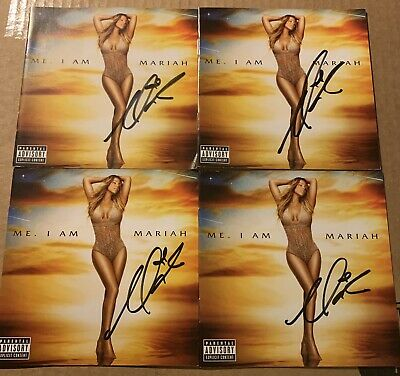 Mariah Carey Official Autographed Signed Elusive Chanteuse Cd Booklet Rare  • 56.29£