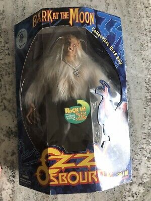 OZZY OSBOURNE BARK AT THE MOON FIGURE Autographed Hand Signed #27 Of 50! RARE • 368.15£