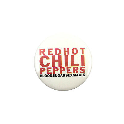 Red Hot Chili Peppers Bloodsugarsexmagik Button Pinback Badge © 1992 Official • 17.98£