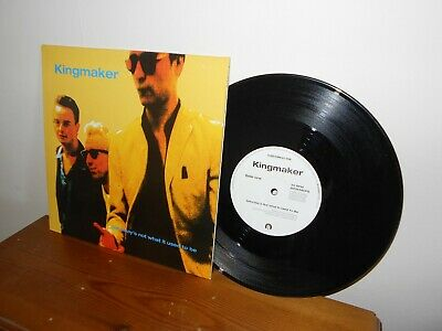Kingmaker-Saturdays Not What It Used To Be-10 Inch Vinyl 4 Tracks • 2.50£