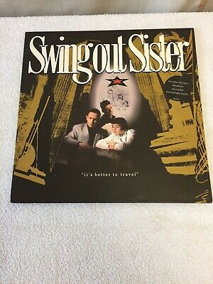 Swing Out Sister Vinyl Lp,its Better To Travel • 5£
