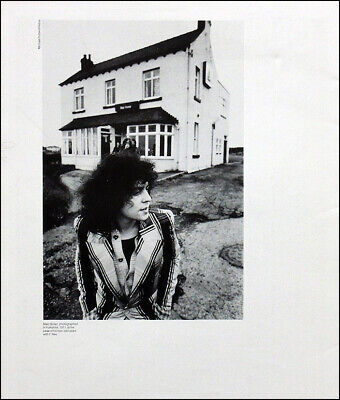 Marc Bolan Poster Page . 1971 Yorkshire . T. Rex . 1q17 • 7.99£