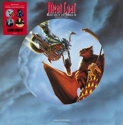 Meat Loaf Bat Out Of Hell II:Back Into Hell 2LP Picture Disc Vinyl RSD 2020 NEW! • 23.92£