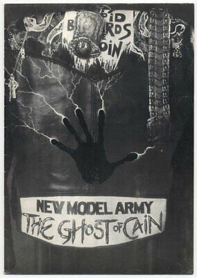 New Model Army L'amourder 1986 Programme • 30£