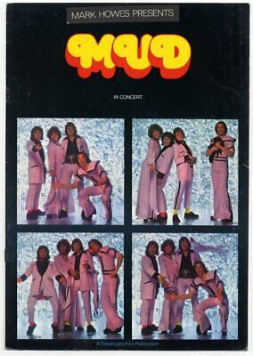 Mud Together 1975 Programme  • 25£