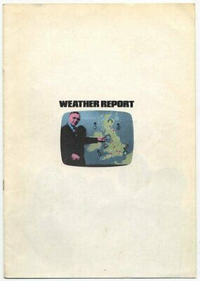 Weather Report 1978 Programme  • 25£