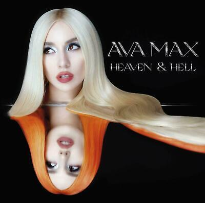 AVA MAX HEAVEN AND HELL (CD) (New Release September 18th 2020) - IN STOCK • 6.99£