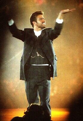 GEORGE MICHAEL At 'Concert Of Hope' 1993 ~ 70 Exclusive CONCERT PHOTOS! Not Cd • 16.50£