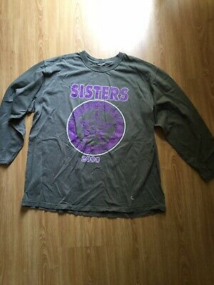 Sisters Of Mercy 2000 Long Sleeve Tour T Shirt VINTAGE & RARE! • 22£