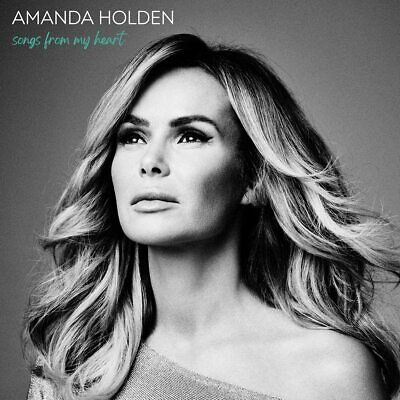 AMANDA HOLDEN SONGS FROM MY HEART CD (Released 02/10/2020) - IN STOCK • 10.43£