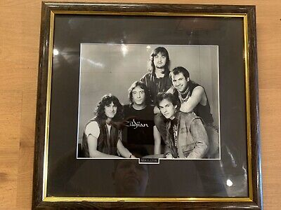 Marillion Signed Photo • 35£