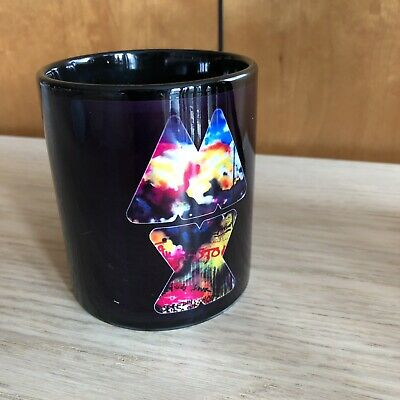 Coldplay Black Mug Concert Mylo Xyloto Tour 2012 New • 25£