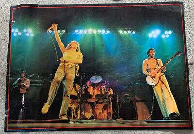 The Who 1980s Original Poster • 1.99£