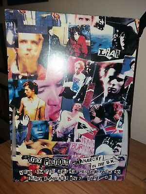ORIGINAL SEX PISTOLS  Anarchy In The UK  IN STORE 3D PROMO DISPLAY PUNK 1990's • 65£