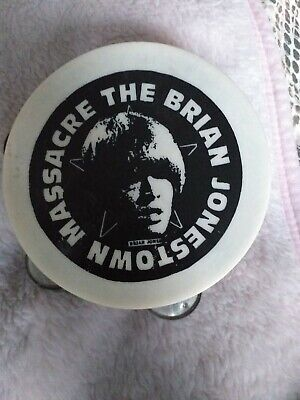 Brian Jonestown Massacre Promo Mini Tambourine Rare BJM • 45£