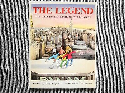 Bee Gees - The Legend Of Barry . Robin . & Maurice Gibb Signed By David English • 8£