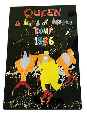 QUEEN - A KIND OF MAGIC TOUR 1986 12x8 METAL SIGN • 9.99£