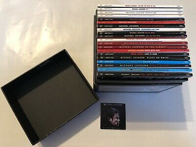 Michael Jackson Visionary Box Set Complete Collectable Rare Ltd Edition - Mint • 150£