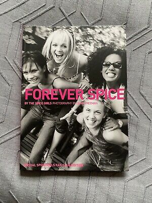 Brand New Spice Girls – Forever Spice Book (Signed) Exclusive Fan Club Edition • 65.99£