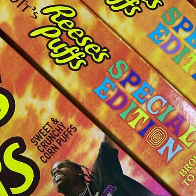 Travis Scott Cactus Jack Reece's Puffs Cereal (Family Size) • 22£
