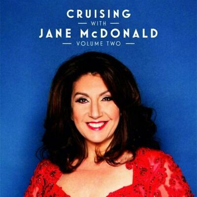 JANE McDONALD CRUISING WITH JANE McDONALD Vol.2 (Two) CD Released 30/10 IN STOCK • 10.97£