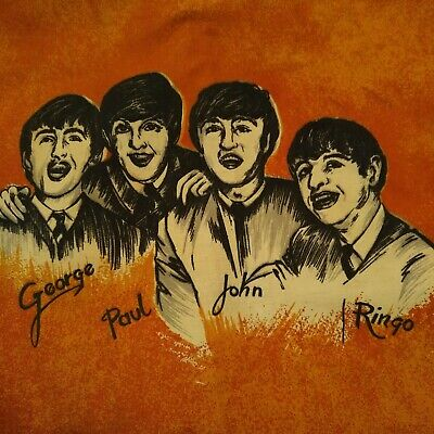 Bedtime With The Beatles-Original 1964 Complete Curtain Manufactured In Holland. • 51£