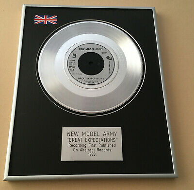 NEW MODEL ARMY Great Expectations PLATINUM PRESENTATION DISC • 64£
