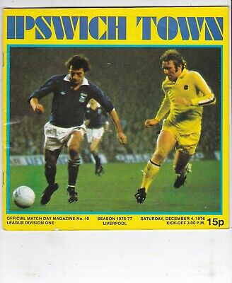 Ipswich Town V Liverpool 4/12/76 Sex Pistols Anarchy In The Uk Advert • 19.99£