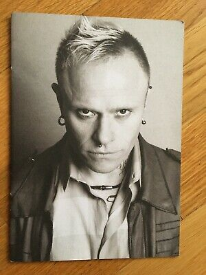 Keith Flint The Prodigy Order Of Service Booklet • 110£