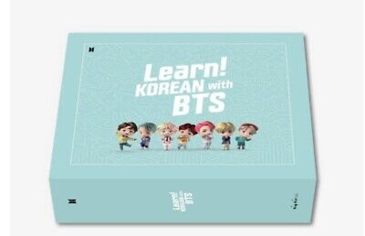Learn! KOREAN With BTS Book Package New & Sealed • 119£