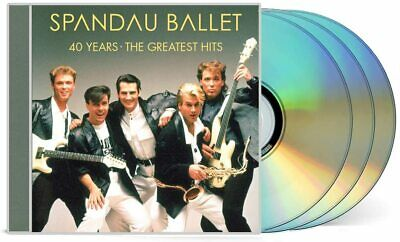 SPANDAU BALLET 40 YEARS GREATEST HITS 3 CD (New Release 27/11/2020) IN STOCK • 12.26£