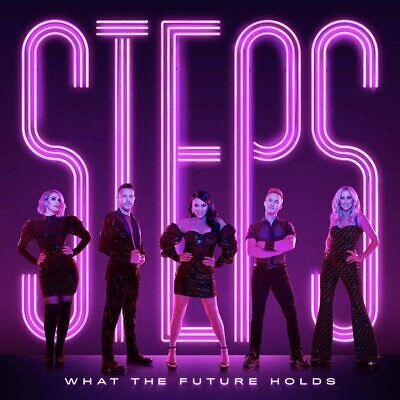 STEPS WHAT THE FUTURE HOLDS CD (New Release November 27th 2020) IN STOCK • 10.95£