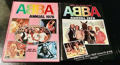 Abba The Official Annuals 1978  & 1979 Hardback In VGC • 14£