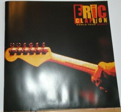 Eric Clapton (2006/07) World Tour Programme. • 2.70£