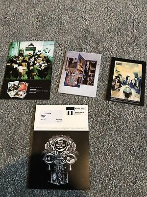 Oasis Promo Postcards Rare Mailers X 4 Masterplan Box Lord Don't Slow Me Down • 9.99£