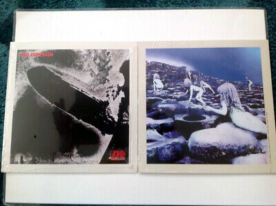 LED ZEPPELIN 2014 Promo Lithographs 8  X 8  Flat Prints NEW & SEALED Jimmy Page • 1.50£