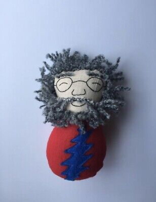 Jerry Garcia Christmas Ornament Grateful Dead Hippie Handmade • 14.82£