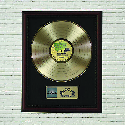 Eagles  Hotel California   Framed Cherry Wood  LP Record Display  M4  • 104.99£