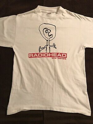 "Radiohead The Bends Original Vintage Promo T Shirt *NOT A Reproduction"" 1995 • 111.12£"