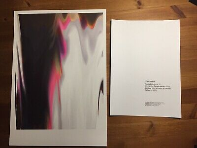 Peter Saville Waste Painting + Two Rare 'Unknown Pleasures' Cards + Two Postcard • 165£