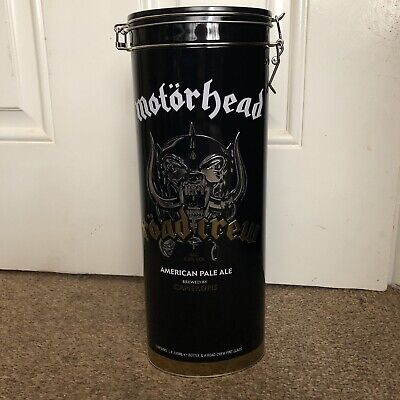Motorhead - Road Crew Set New - Collectors Tin, Glass + 330ml Bottle - Lemmy • 17.99£
