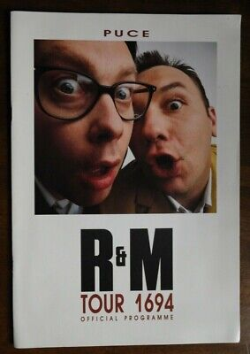 REEVES & MORTIMER - R&M Tour 1694 - PUCE - Official Programme.   • 4.45£
