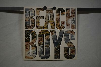THE BEACH BOYS 1985 CBS Promo Poster Flat 12 X12  Excellent Cond • 13.33£