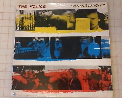 The POLICE SYNCHRONICITY Factory Sealed Album LP Sting Andy Summers  S. Copeland • 22.22£