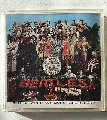The Beatles. Sgt, Pepper's Lonely Hearts Club Band. Reel To Reel Tape • 30£