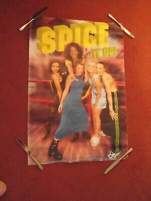 Spice Girls 1996 Poster - Spice It Up. • 5£