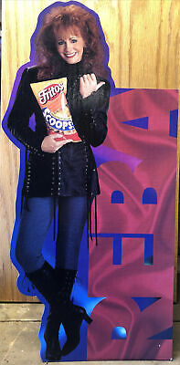 """Collectible Reba McEntire 1995 Fritos 18"""" Stand Up Standee • 7.41£"""